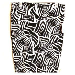 BNWT - 2XL - Lularoe Cassie Skirt - Zebra 🦓